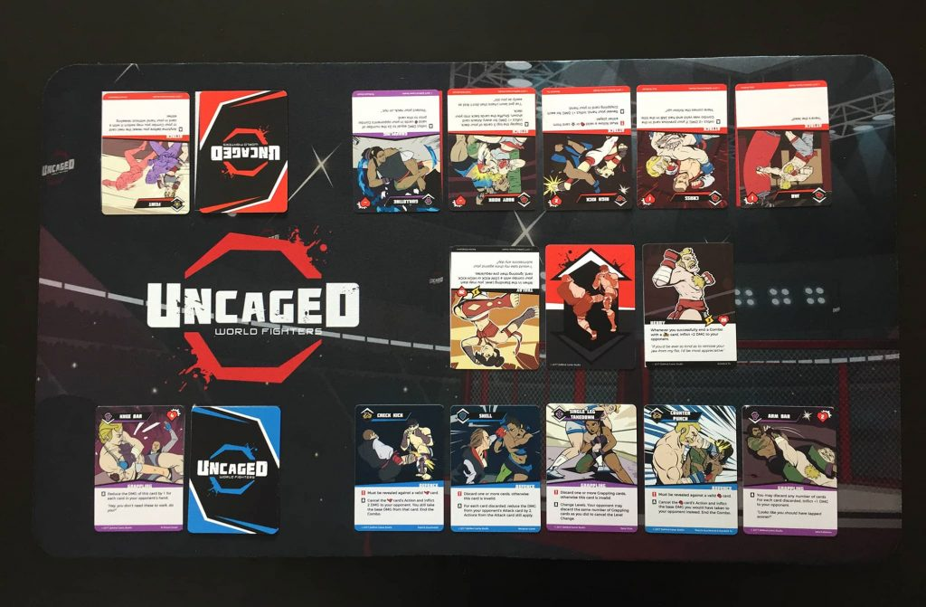 UNCAGED: World Fighters game in progress