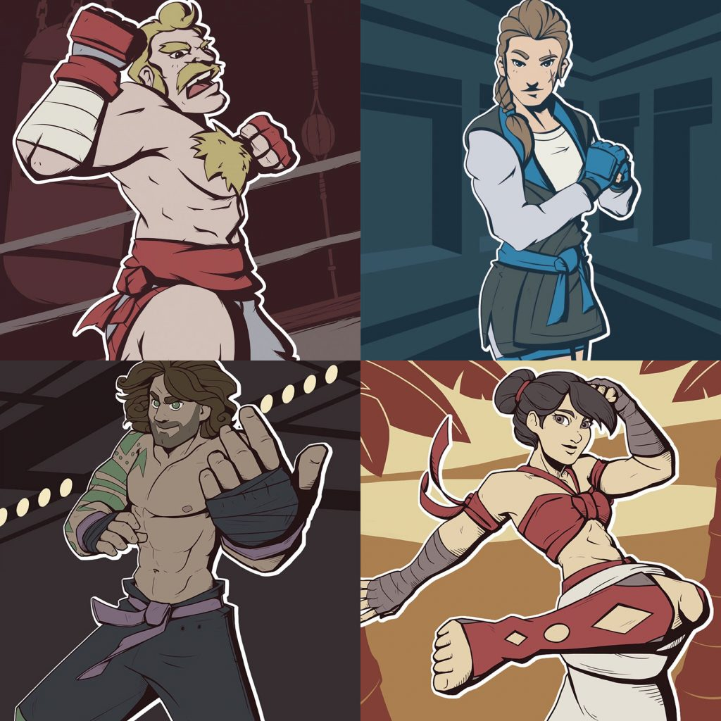 UNCAGED: World Fighters artwork