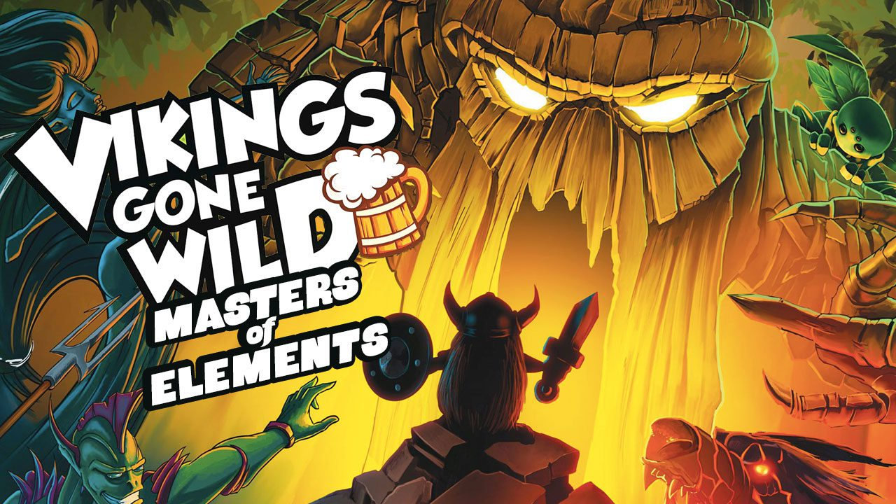 Vikings Gone Wild: Masters of Elements review header