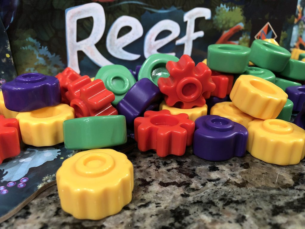 Zoomed in Reef pieces