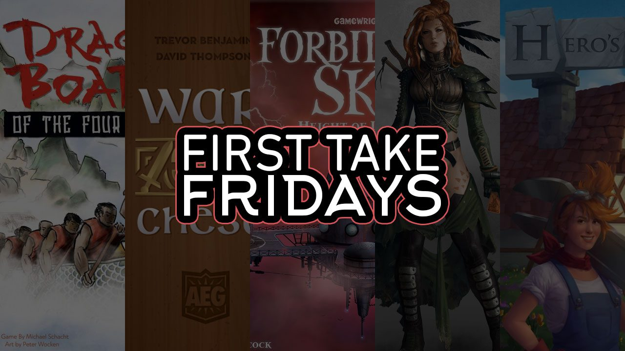 First Take Fridays - Degenesis of the Forbidden Hero's Dragon War? header