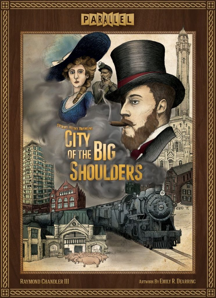 City of the big shoulders cover