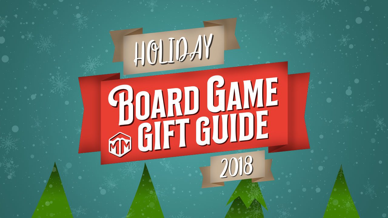 2018 Holiday Board Game Gift Guide header