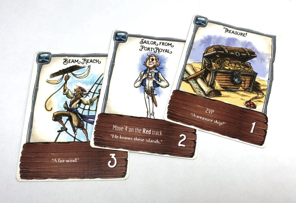 Port deck card examples