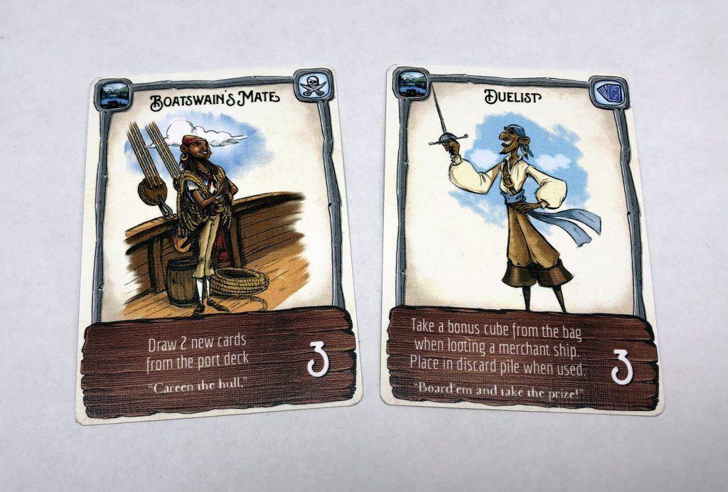 Discard and play to table cards
