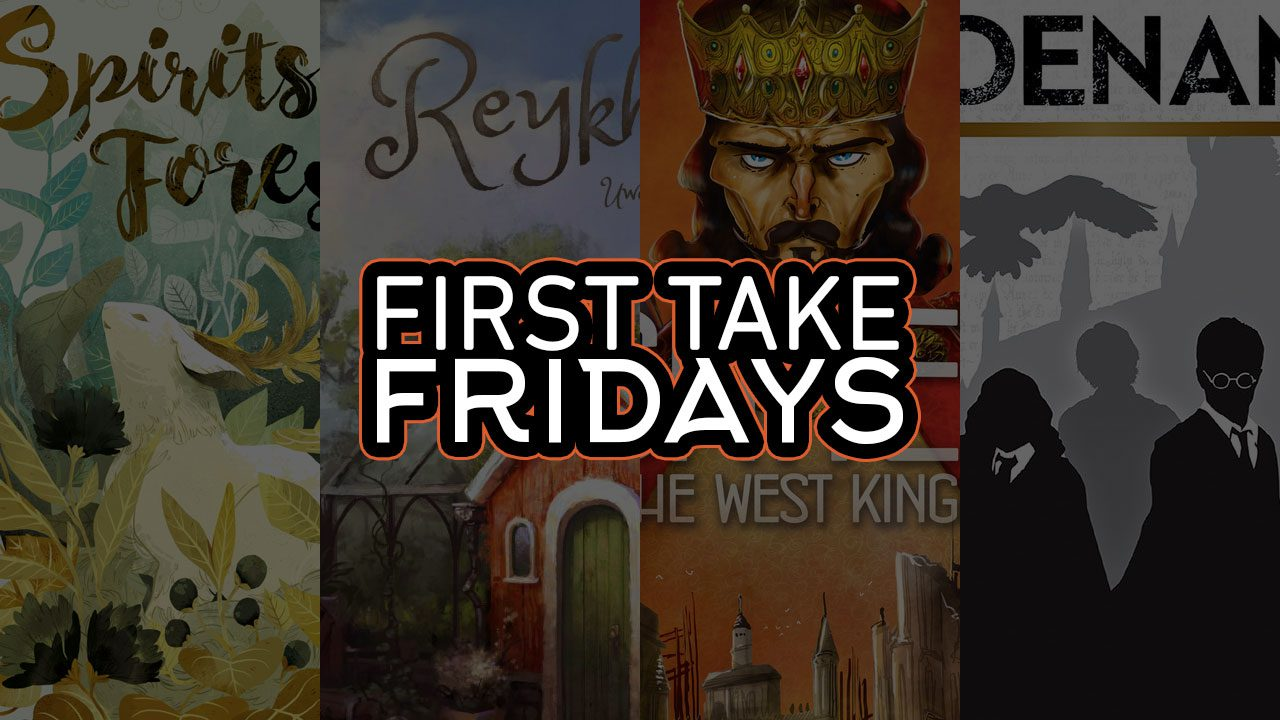 First Take Fridays - Harry Potter and the Spirits of West Reykholt header