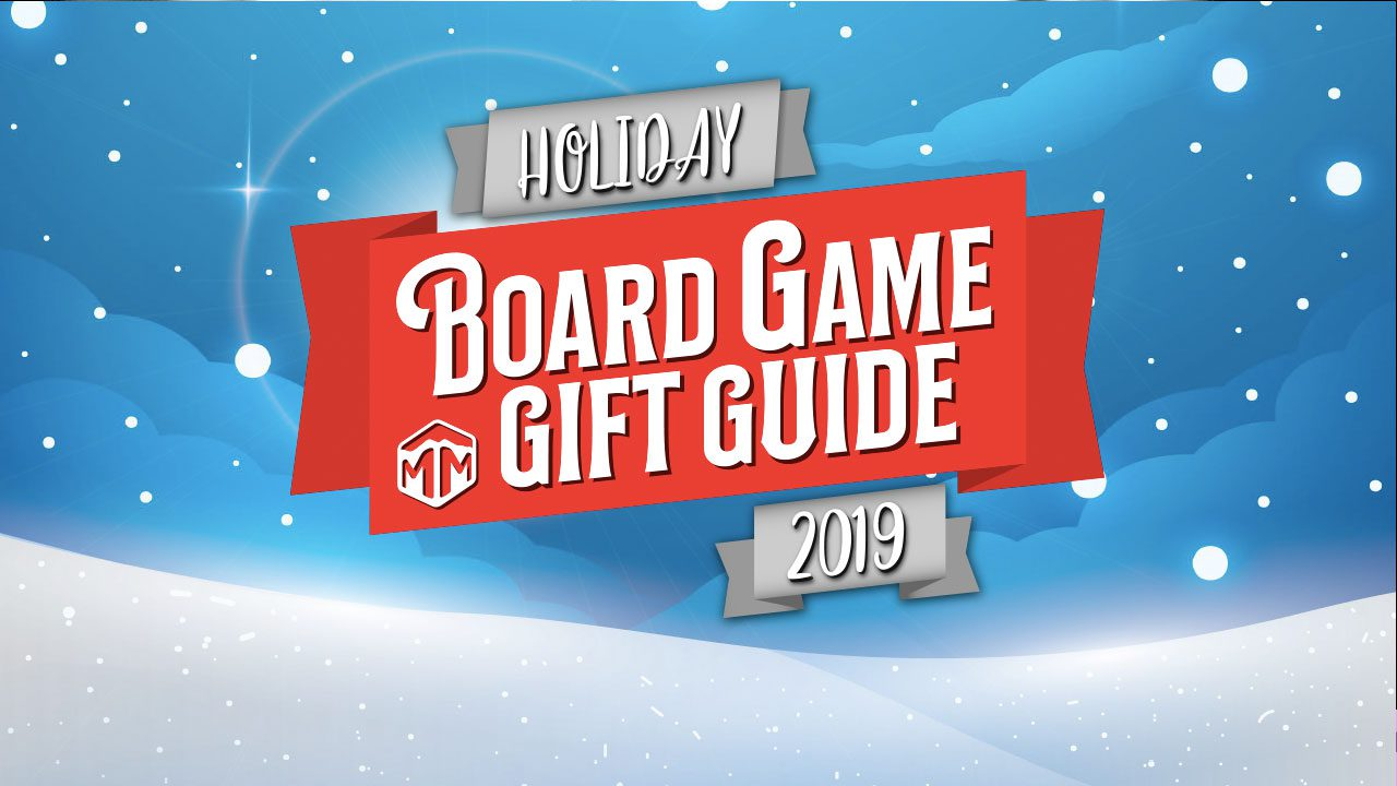 2019 Holiday board game gift guide header