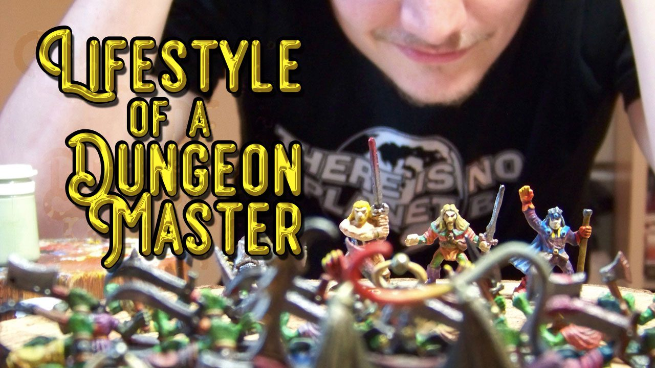 Lifestyle of a Dungeon Master header