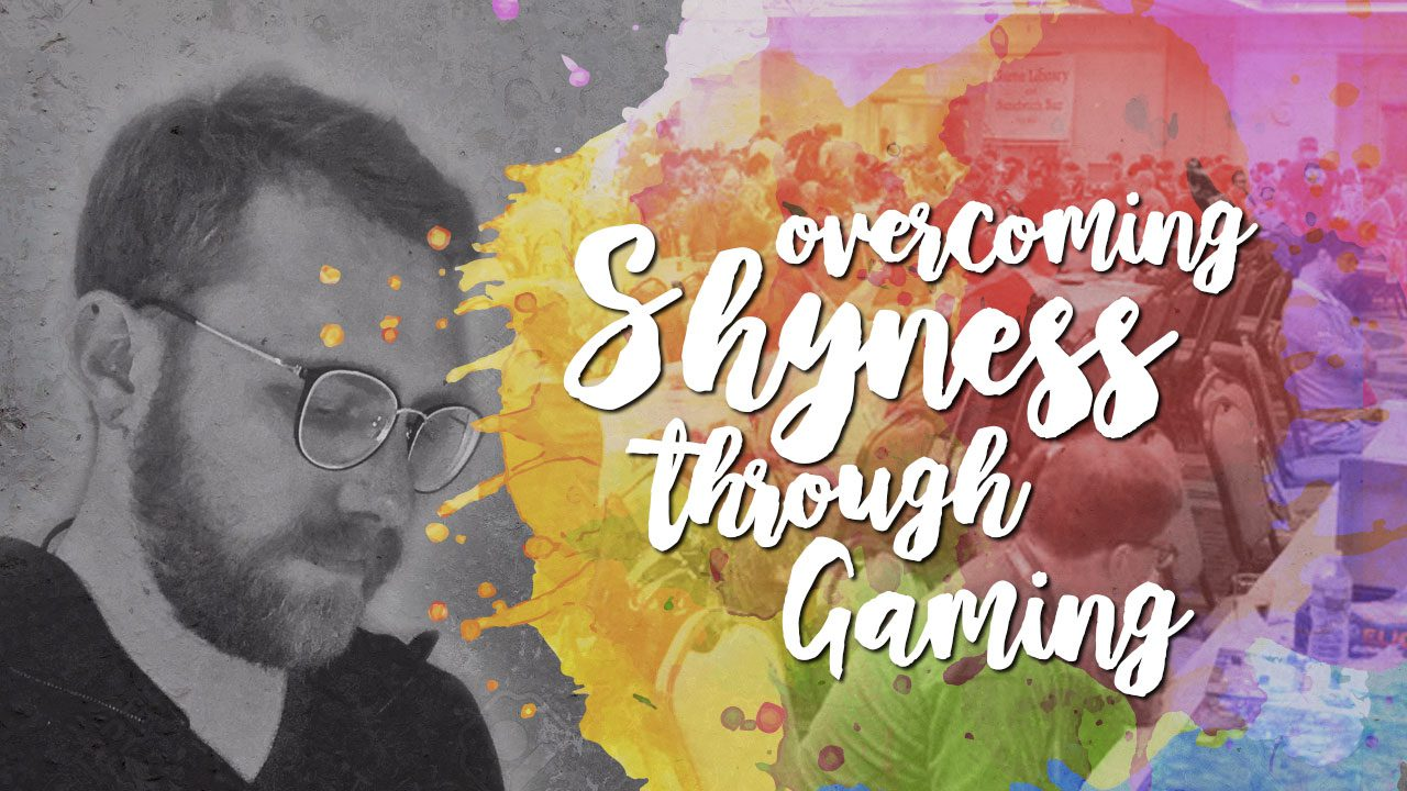 Overcoming shyness through gaming header