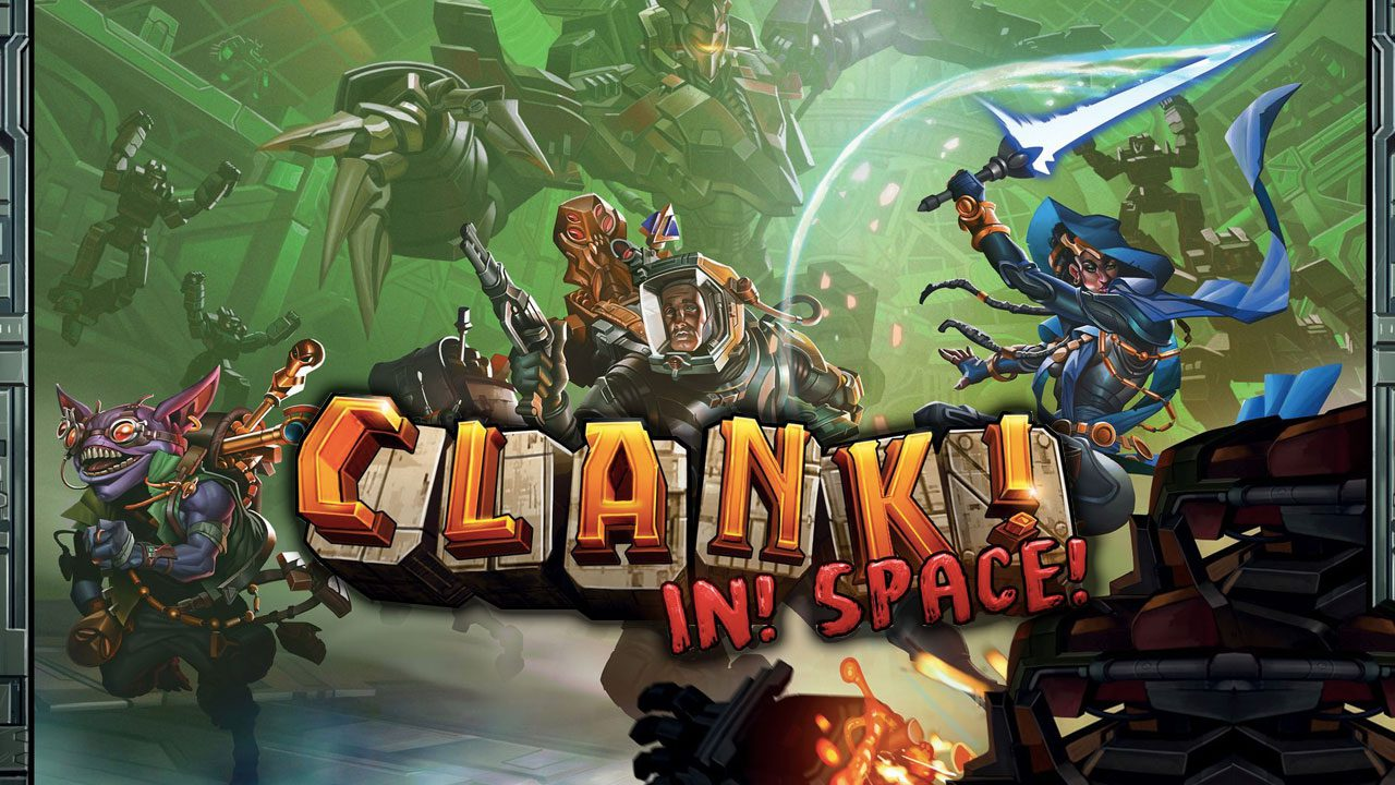 Clank! In! Space! review header