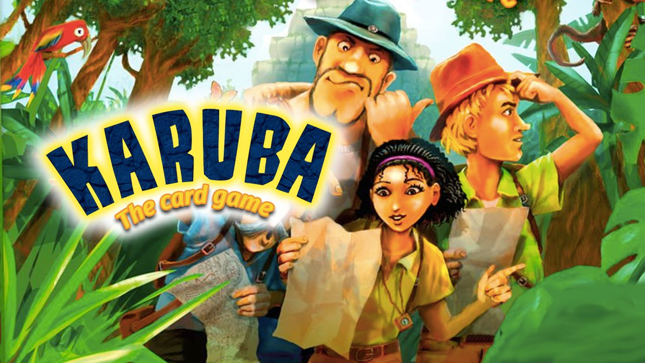 Karuba: The Card Game review header