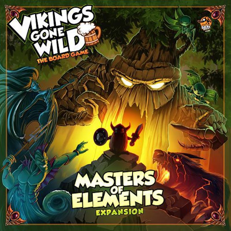 Vikings Gone Wild: Masters of Elements cover