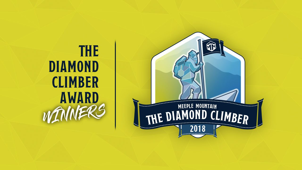 2018 - Meeple Mountain Board Game Award Winners header