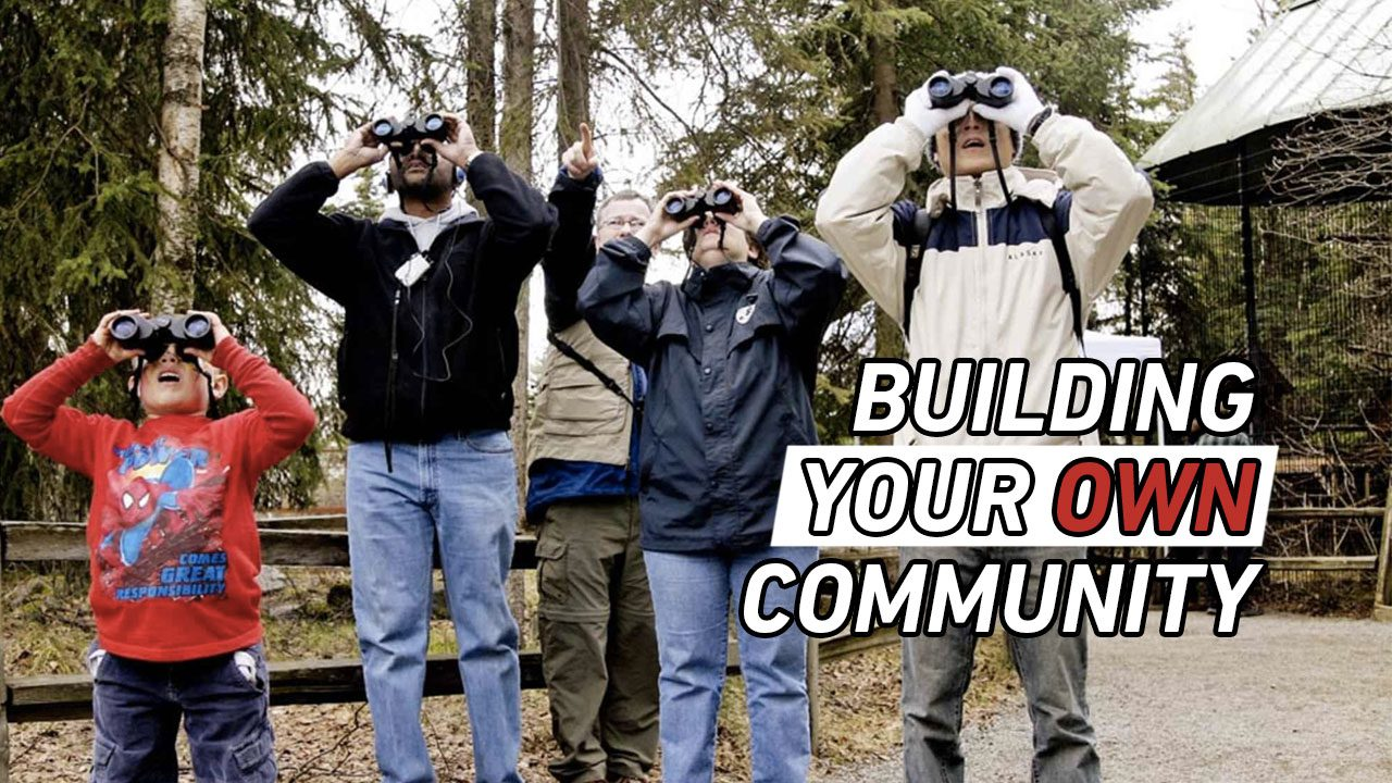Building Your Own Community header