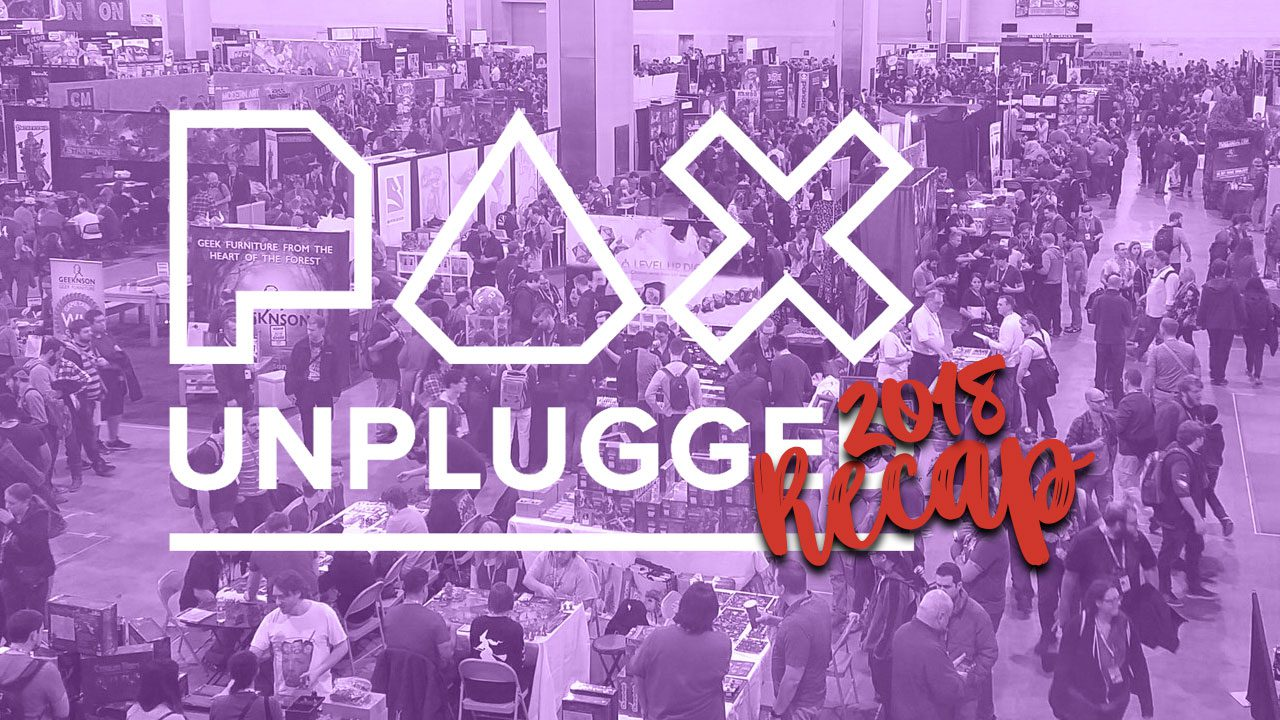 PAX Unplugged 2018 Recap header