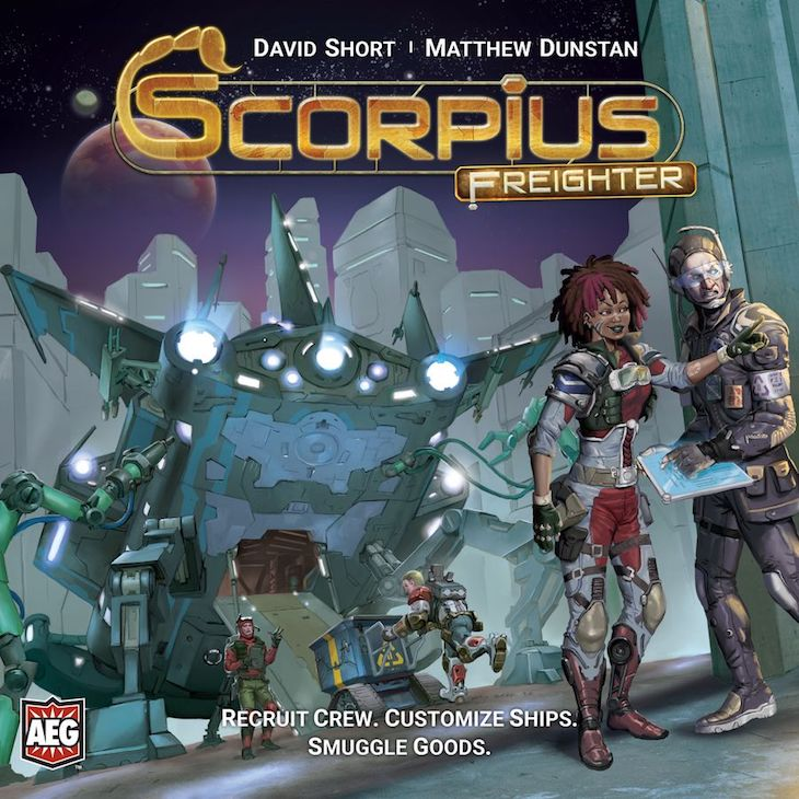 Scorpius Freighter cover