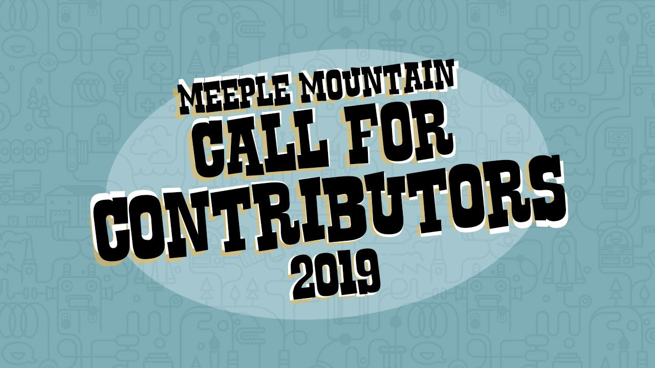 2019 Spring Call for Contributors header