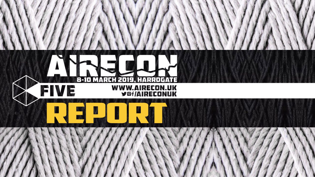 AireCon 5 Report header