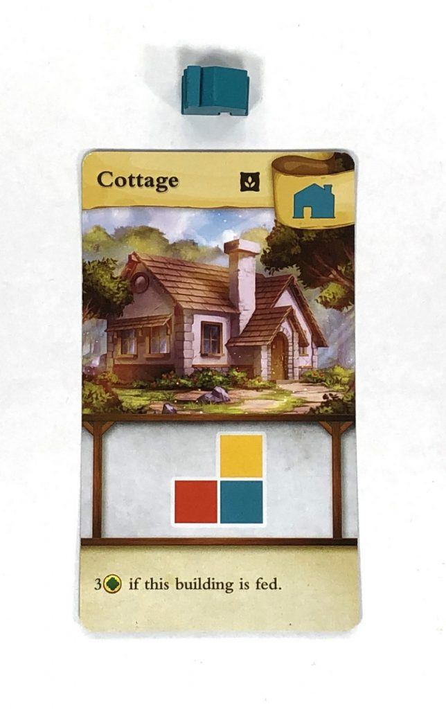 Tiny Towns Cottage card