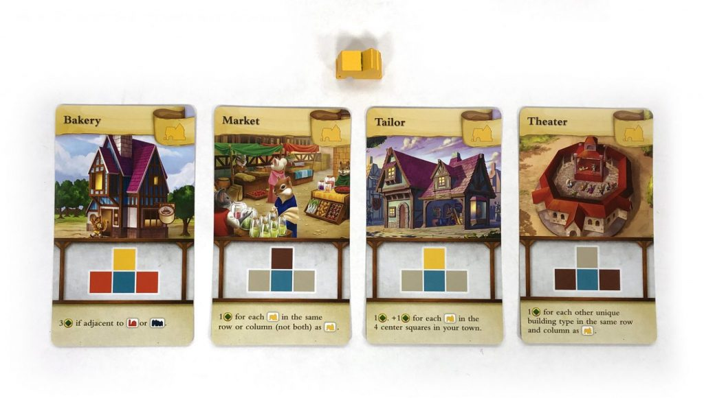 Tiny Towns Theater cards