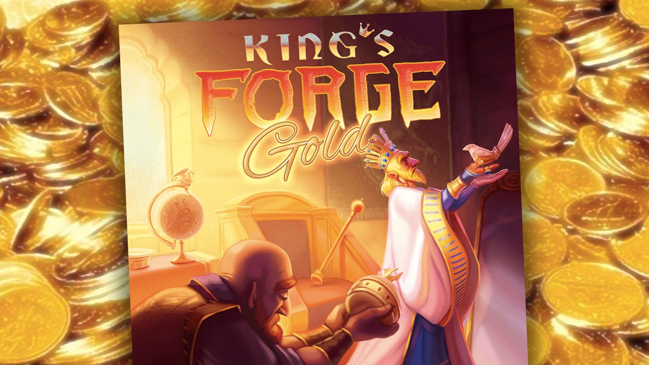 King's Forge: Gold review header