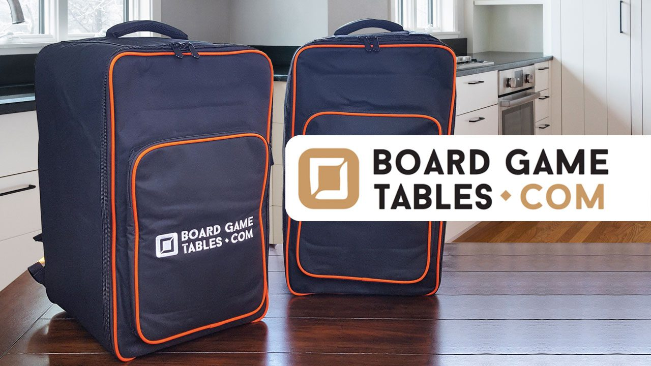 Boardgametables.com Board Game Bag Review header