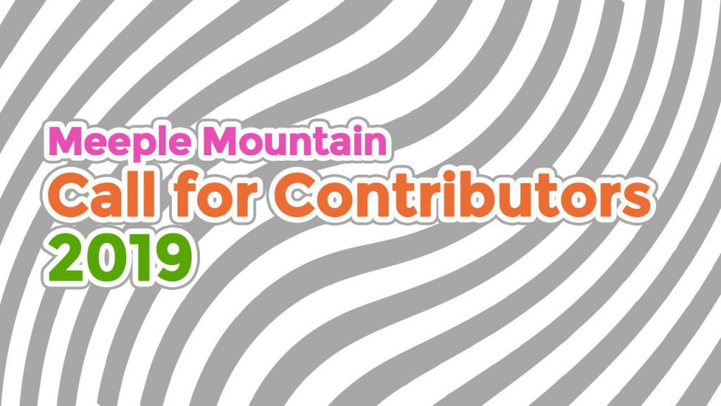 2019 Fall Call for Contributors header