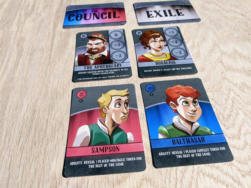 5th Player Cards