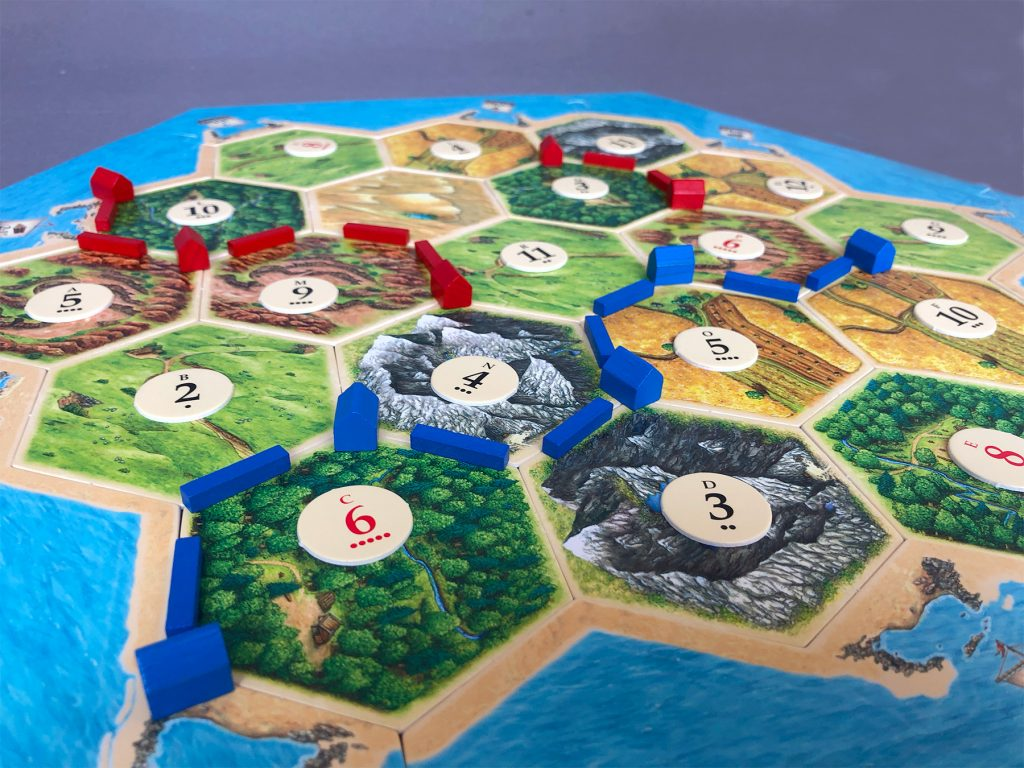 Longest Road in Catan