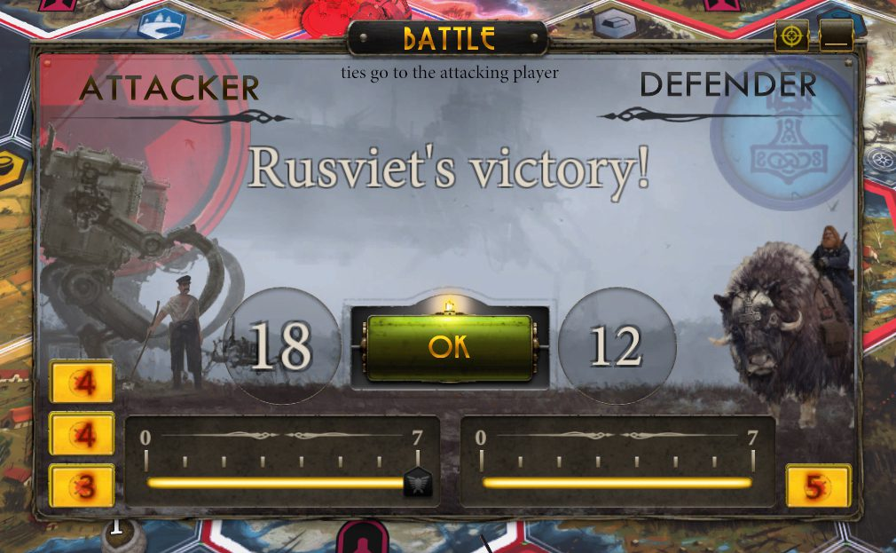 A Rusviet Victory over the Nordic faction