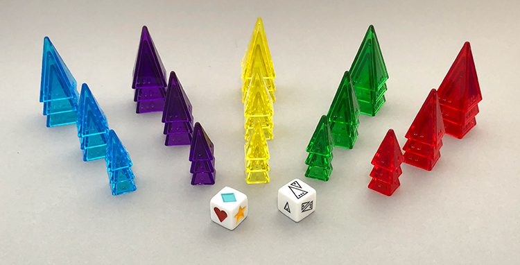 The Ice Dice setup