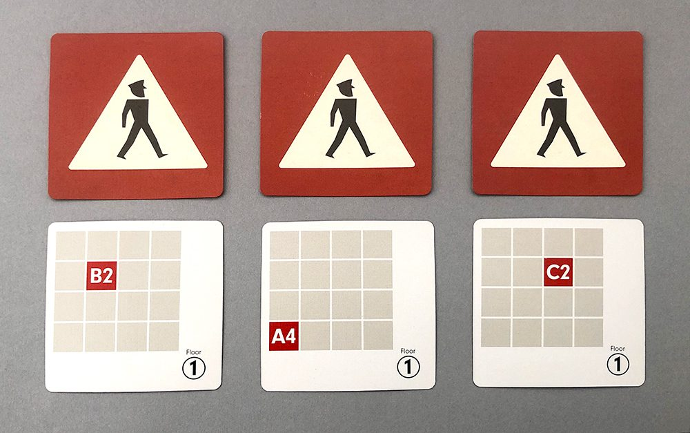 Guard Movement cards