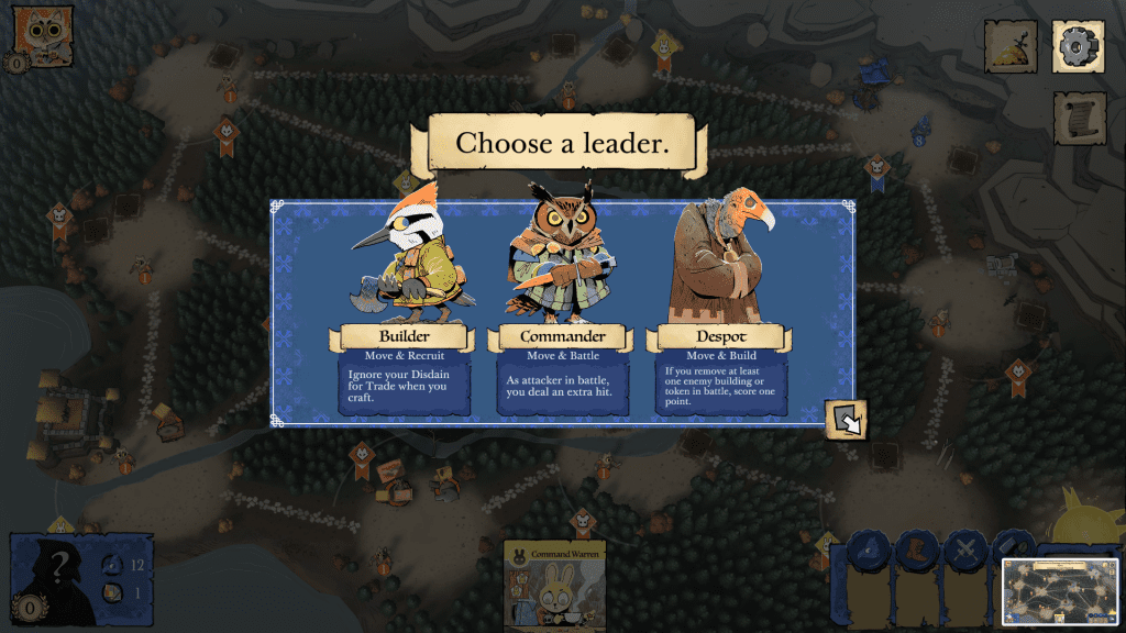 Choosing a Leader after Turmoil — without being able to see the center of the board.