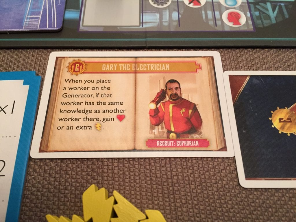 Dystopia Worker Card With Description