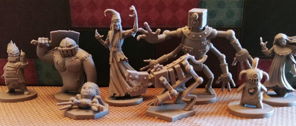 Villain Miniatures included in Stuffed Fables