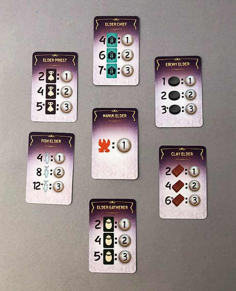 Examples of the Elder cards