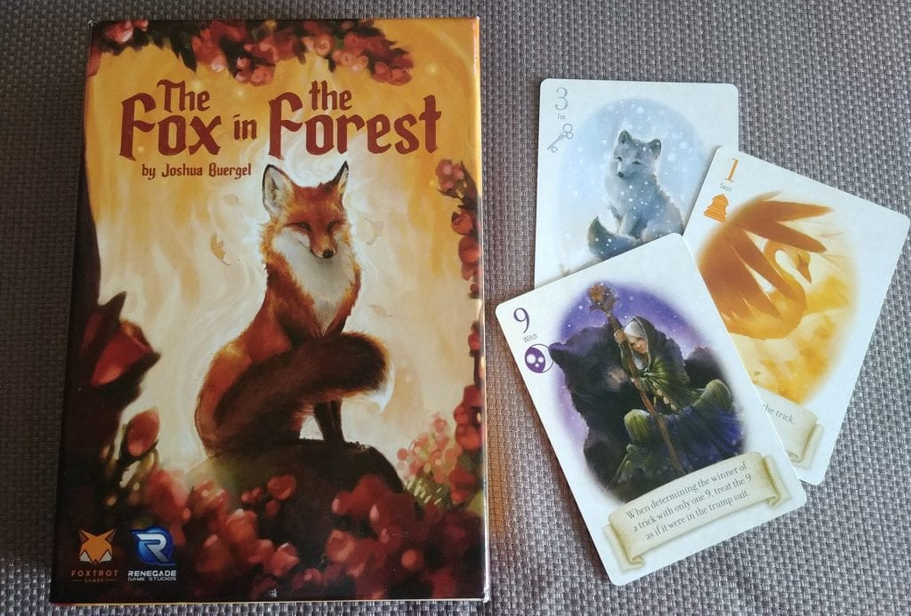Box and Card art from the Fox in the Forest