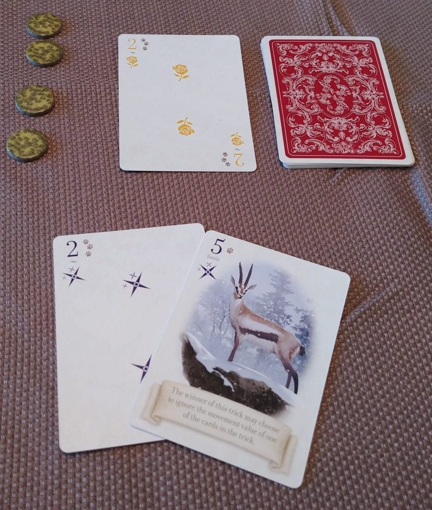 Card details of The Fox and the Forest Duet