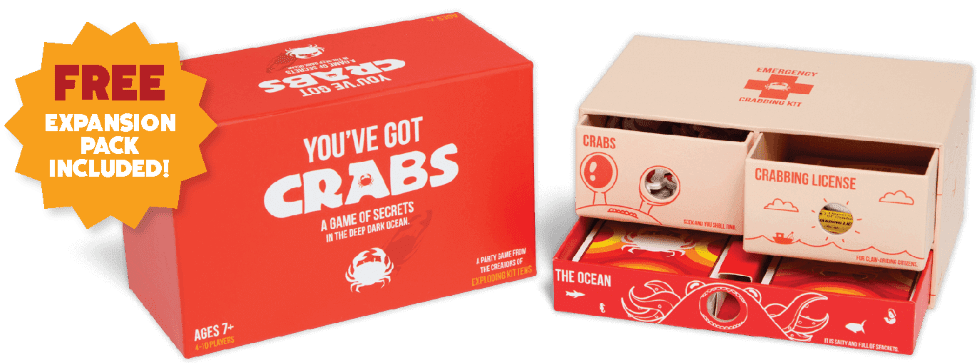 Contents of the You've Got Crabs Game