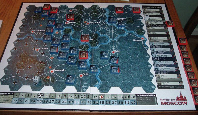 Modern Battle for Moscow Assets